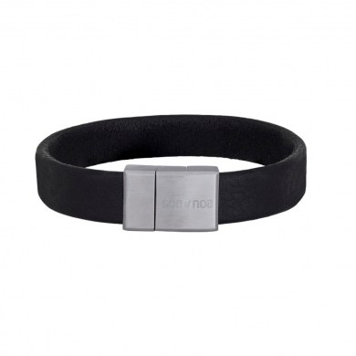 Armband Leather Black von SON of NOA