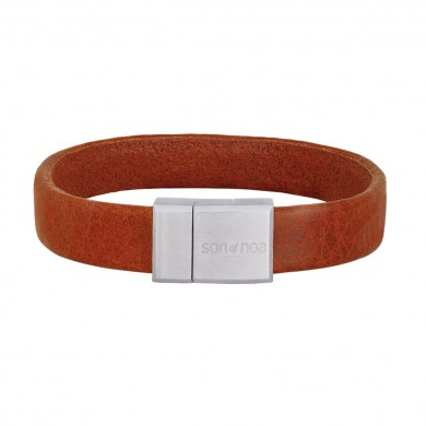 Armband Leather Cognac von SON of NOA