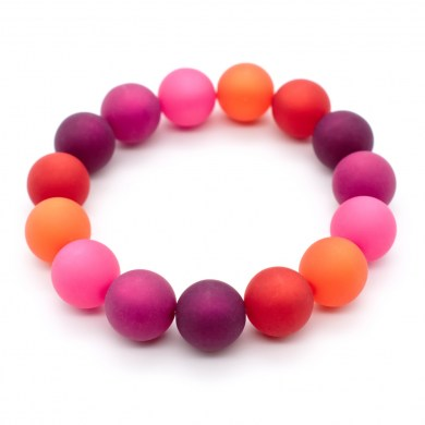 Armband Strawberry Color Polaris-Perlen bis 12mm