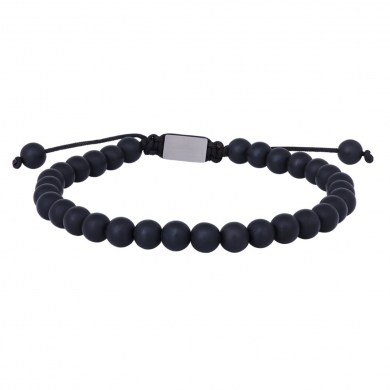 Armband Onyx matt von SON of NOA